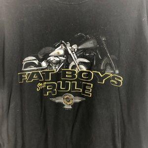 Harley Davidson XXL Tshirt Forth Worth TX Fat Boys